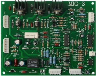 Tap type MIG welding circuit board  mig-3  nbc-2 nbc-3 traditional card for co2 welding machine mig wire feeder motor 76zy02a dc24v 18m min for mig welding machine