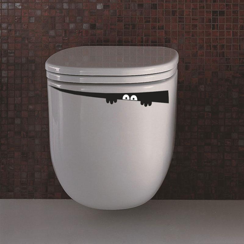 ⊰Creatieve Interieur Grappige Toiletbril Stickers-Rest Room ...