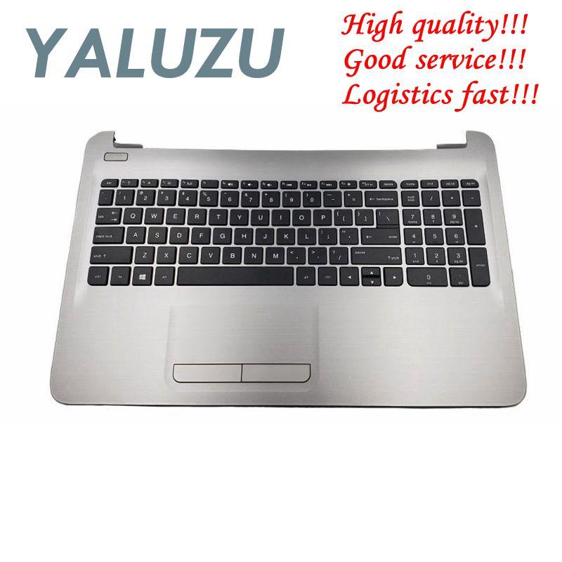 YALUZU NEW Laptop Palmrest For HP 250 G5 15-AC 15 AC 15-AF Laptop Palmrest Keyboard Bezel Upper Case Touchpad