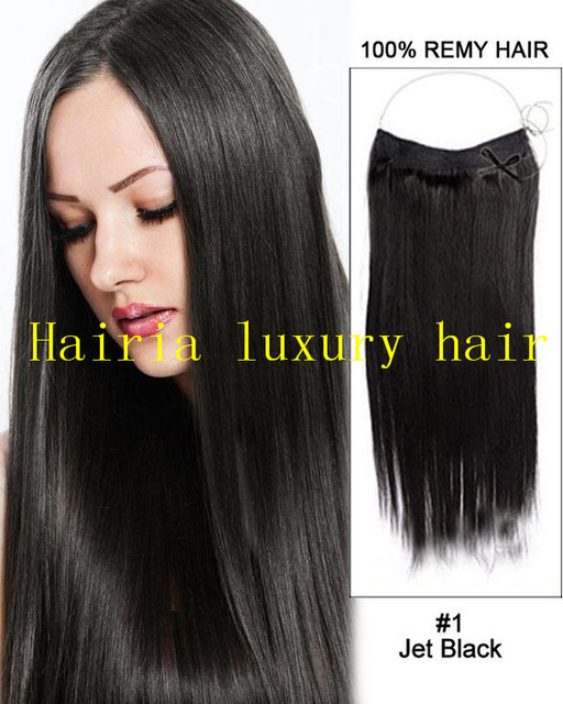16 32130g Perfect Halo Lady Hair Human Hair Extensions Flip In Hair