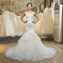 SuLi Q-028 Sexy Open Back Beaded Sweetheart Wedding Dress