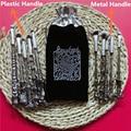 En stock 5 unids Harry Potter Varita Cepillo Asistente Storybook Tazas Cosméticos Maquillaje Maquillaje Varitas de Metal o De Plástico cepillos