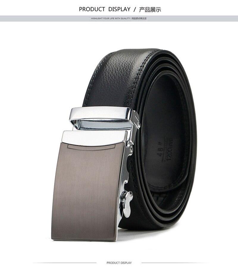 2017 Nouvelle vente De Marque High-grade Bentley Unisexe Automatique boucle  ceintures hommes d affaires décontractée en cuir véritable De Luxe  ceintureUSD ... 453080049bc