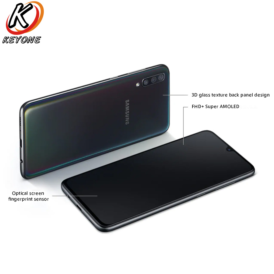 """Image 5 - New Samsung Galaxy A70 A7050 Mobile Phone 6.7"""" 6GB RAM 128GB ROM Snapdragon 675 Octa Core 20:9 Water Drop Screen NFC CellPhoneCellphones   -"""