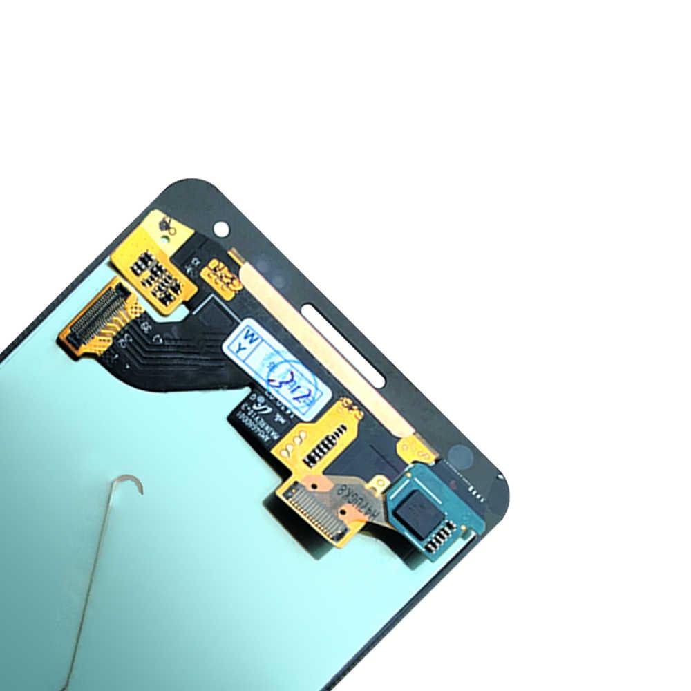 Nuevo Super AMOLED LCD G850 G850F G850M G850K Note4 mini pantalla táctil de trabajo 100% probado montaje para Samsung Galaxy g850