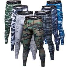 2019 3D printing Camouflage Pants Men Skinny Sweatpants Training Male Fitness Streetwear Leggings Gym Jogging Trousers