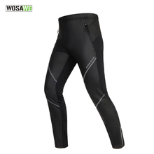 WOSAWE Winter Bike Pants Thermal Breathable Outdoor Sports Cycling Bicycle Tights Sweatpant For Men and Women