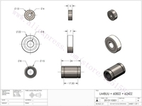 11 x LM8UU + 3 x 608ZZ +3 x 624ZZ NSK Bearing Kit/set for RepRap Wilson TS 3D Printer mechanical parts accessory