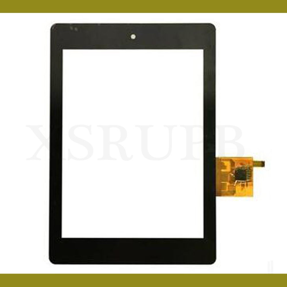 100% Test Touch screen Sensor Digitizer Glass For Acer Iconia Tab A1 A1-810 A1-811 A1 810 Replacement With Tracking 5pcs lot high quality 7 9 for acer iconia a1 830 a1 830 25601g01nsw touch screen sensor tablet digitizer panel front glass lens