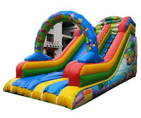 Commercial used giant Inflatable slide for kids with reliable quality