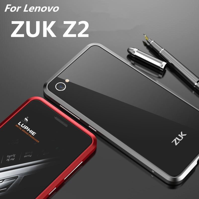 สำหรับF Undas Lenovo ZUK Z2กรณีที่หรูหราห้องดีลักซ์อัลตร้าบางอลูมิเนียมกันชนสำหรับLenovo ZUK Z2