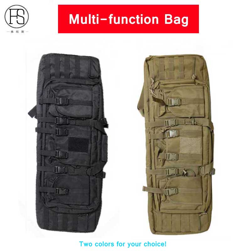 New!Outdoor Airsoft Gun Bag Military Tactical Backpack Camping Rifle Case Hunting Bag Protection Shoulders And Hand Bag Dual Use