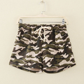 Women's Summer Military Camouflage Shorts High Waist Shorts Shorts Feminino Hot Shorts Cropped Casual Loose Hotpant For Students
