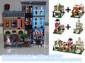 LEPIN 15011 Creadores de la serie Modelo de Bloques de Construcción de la Oficina de Detectives Compatible 10246 Arquitectura casa Juguetes para los niños
