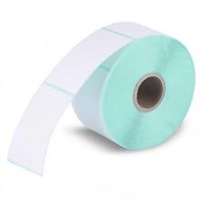 HPRT этикетки тепловой бумаги для печати 40*60*640 ШТ Водонепроницаемый штрих-код бумага Наклейка этикетки бумага для печати