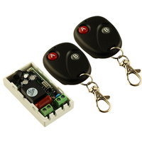 Promotions AC 220 V 1CH Wireless Remote Control Switch System Receiver Transmitter 2 Buttons 2PCS RemoteS