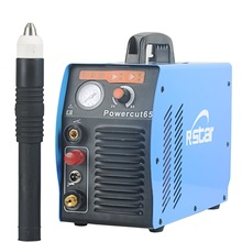 лучшая цена Rstar Digtal Igbt Inverter PFC Tech Powermax65 Plasma Cutter Welding Machine System