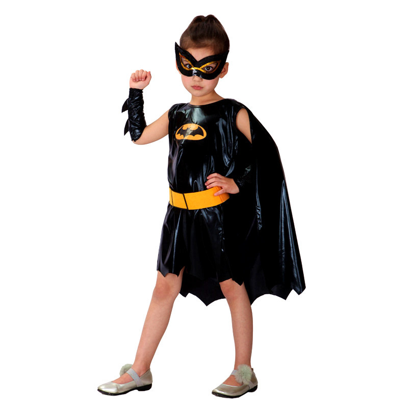 2018 Hot Children Girl Costume Batman Halloween Cosplay Costume Kids Fancy Batman Dress Suitable For 110 140CM-in Girls Costumes from Novelty u0026 Special Use ...  sc 1 st  AliExpress.com : bat girl costume for kids  - Germanpascual.Com