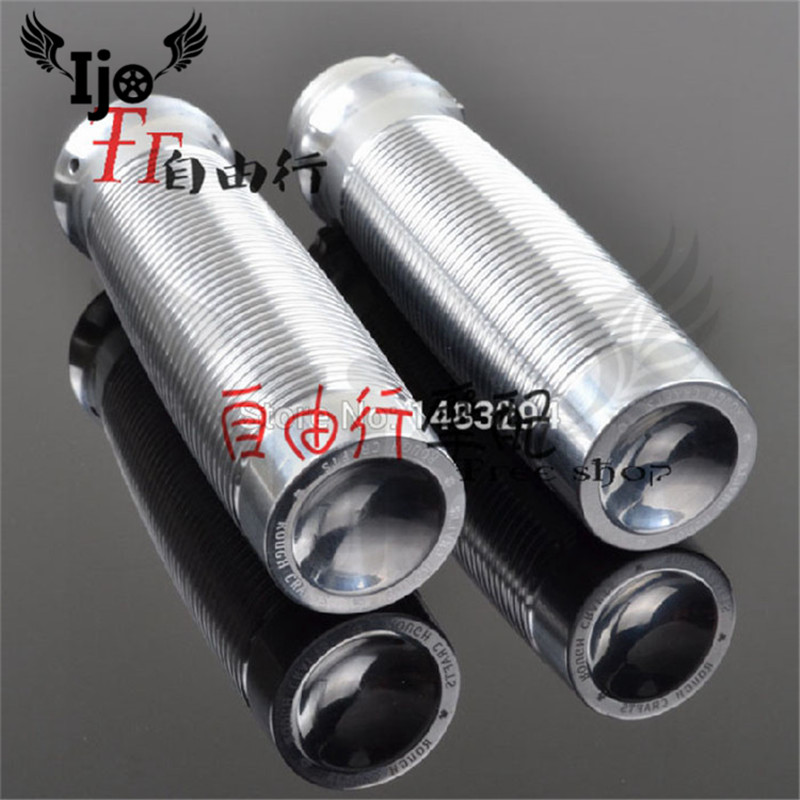 top quality 25MM motorbike hand bar scooter accessories chrome silver motorcycle handlebar for harley XL883 XL1200 48 grip moto