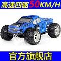 New Surpreendente Brinquedos Carro de Controle Remoto de Alta Velocidade 2.4G 1/18 50 KM/H escala 4WD RTR Caminhão Off-road de Brinquedo Elétrico Crianças Carro RC para o Presente
