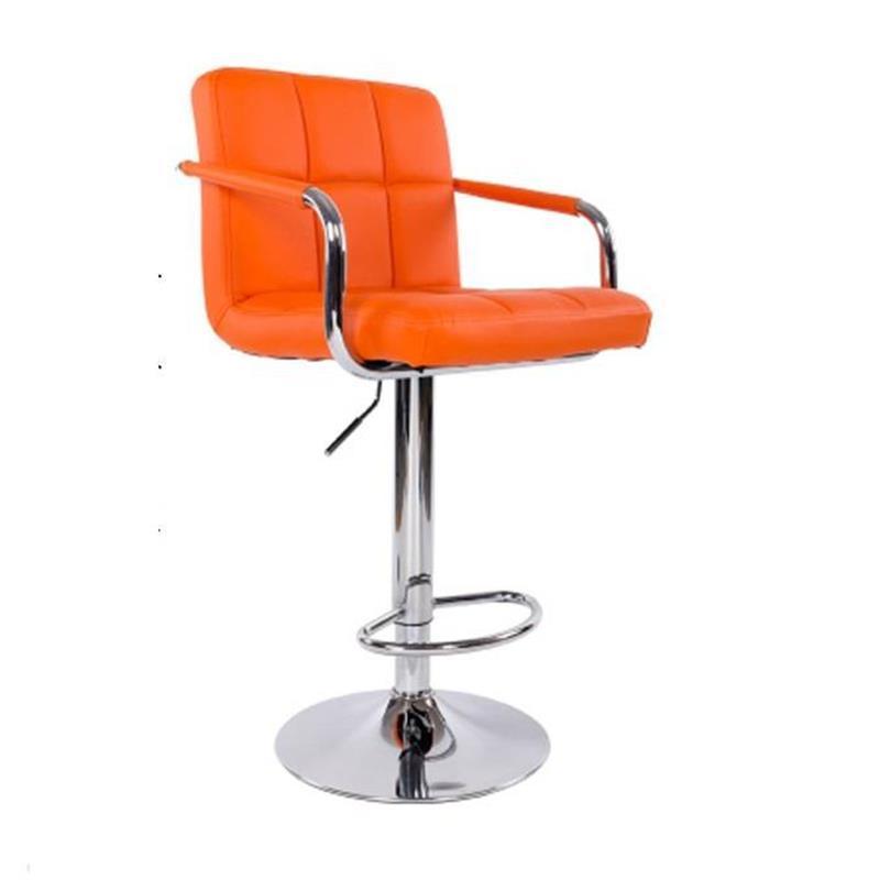 все цены на Ikayaa Bancos Moderno Banqueta Sandalyeler Sedia Barkrukken Hokery Sgabello Leather Cadeira Silla Tabouret De Moderne Bar Chair онлайн