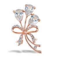 תכשיטים לנשים עלה צבע זהב קריסטל פרח סיכה מקדד קלאסי סיכות סיכות נשים של אביזרי חתונה