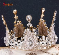 New Arrival Bridal Crowns And Tiaras Beading Crystals Wedding Hair Accessories Jewelry Hair T093
