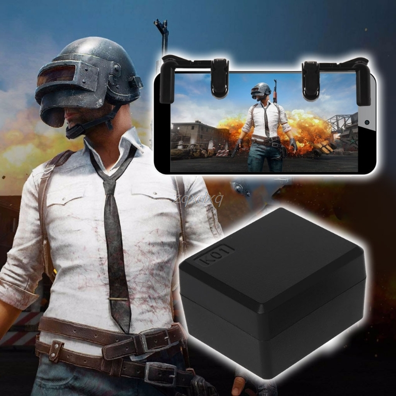The 3th Generation Smartphone Gaming Trigger Kit For PUBG Mobile Game Fire Button Aim Key L1R1 Controller Electronics Stocks
