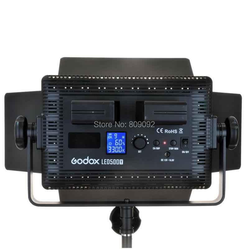 GODOX LED500 LED Video Light Lamp Lights Photographic Lighting 3300K-5600K for DSLR Came ...
