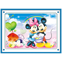 Diamond Painting Mickey Mouse Painting Diamond Mosaic Needlework 5D Diamond Embroidery Cross Stitch Cartoon Mouse Home