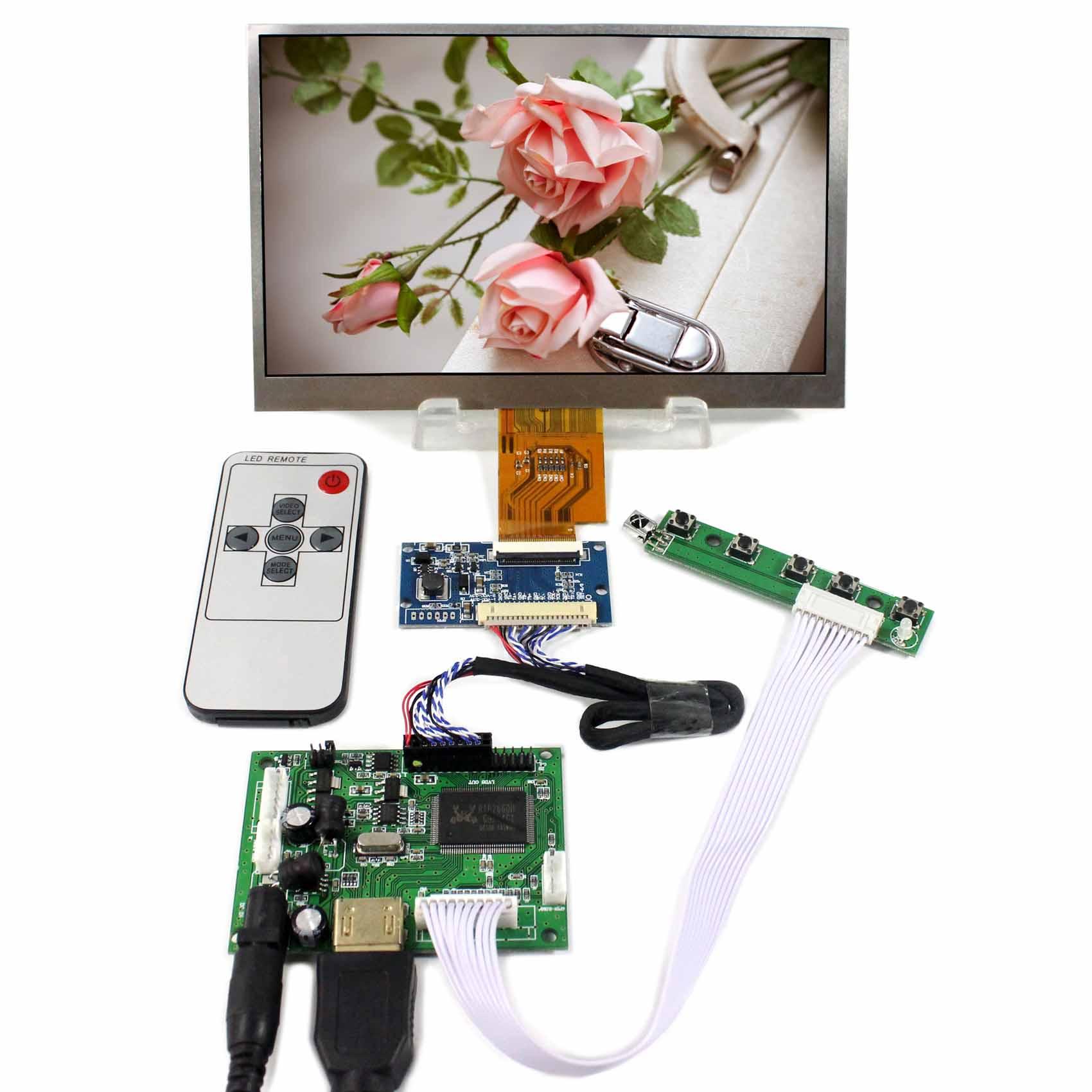 HDMI LCD Controller Board VS-TY2660H-V1 With 7inch 1024x600 AT070TNA2 LCD Screen vga 2av reversing lcd controller board with 7inch 1024x600 at070tna2 lcd screen