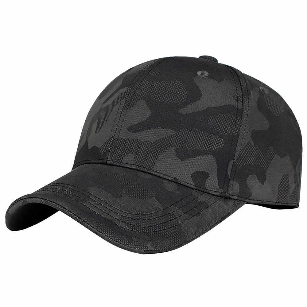 CHAMSGEND Unisex kapelusz mężczyźni kapelusze dla kobiet kamuflaż czapka z daszkiem Snapback czapki Hip-Hop regulowane czapki