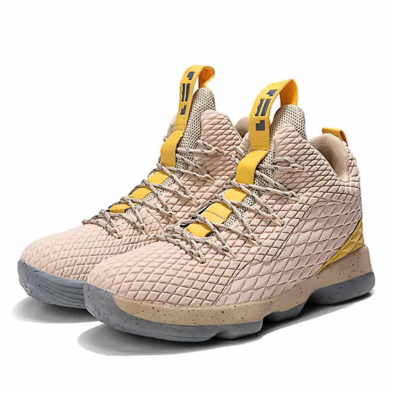 Новые Высокие баскетбольные кроссовки Lebron James 13 со шнуровкой, амортизирующие противоударные парные туфли для бега, спорта на открытом воздухе