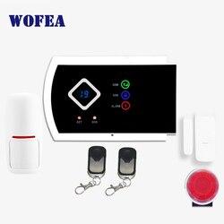 Бесплатная доставка беспроводной и проводной 101 зоны ISO и android приложение поддержка домашней безопасности GSM сигнализация