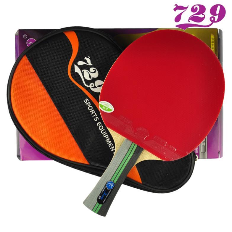 Amitie 729 Original 3 Etoiles Tennis De Table Raquette De Carbone