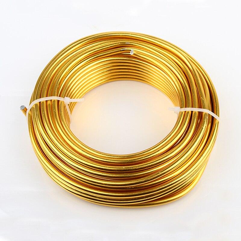 Großhandel 0,5 kg 4mm 6 gauge Eloxiert Künstlerische Runde Aluminium ...