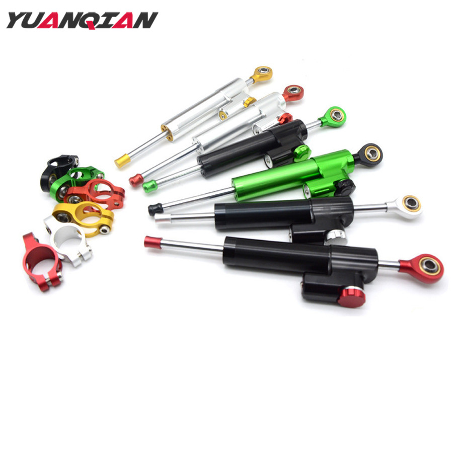 Universal Motorcycle Accessories Steering Stabilize Damper Motorbike Damper Steering For Suzuki Yamaha Kawasaki Honda KTM Ducati 2017 universal 7in1 for yamaha sym kymco for suzuki htf pgo for honda motorcycle diagnostic tool update via email