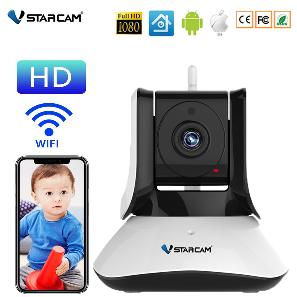 Vstarcam C21/C21S HD 720P/1080P WiFi Video Surveillance Security Wireless IP Camera with Two Way Audio IR Night Vision PanVstarcam C21/C21S HD 720P/1080P WiFi Video Surveillance Security Wireless IP Camera with Two Way Audio IR Night Vision Pan