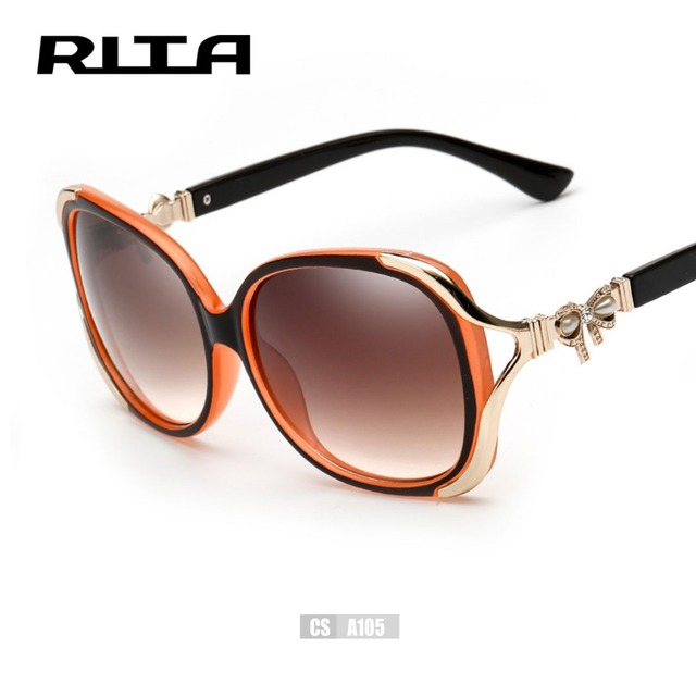 99170f03ce RITA New Hollow Butterfly Sunglasses Women Diamond Pearl Eyewear Ladies  Luxury Vintage Shade CSA105 Brand Designer Sun Glasses
