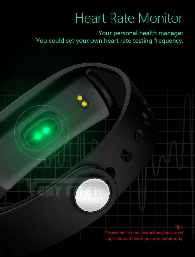 VERYFiTEK V12 Fitness Bracelet IP67 Life Waterproof  Smartband Heart Rate Blood Pressure Oxygen Monitor Smart Wristband Tracker (4)