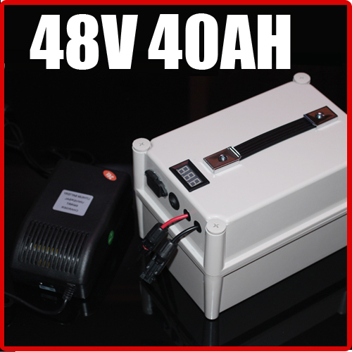 48V 20AH LiFePO4 Battery Portable Battery ,Electric bicycle Scooter Pack 1000W, waterproof 48v lithium Free Shipping