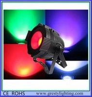 Professionelle Bühnenbeleuchtung UV Schwarz COB LED Pan Kann RGBWA + UV Par64 6in1 DMX 100 watt LED COB Par 150 watt LED Bühne Licht