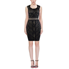 HLBCBG Woman's Bandage Dress Bodycon Dress Evening Party Dress 2308 XS S M L