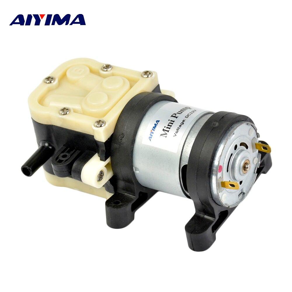 Aiyima Micro 545 Water Pump DC12V 24V RO Membrane Water Purifier Self-priming 2 Points Diaphragm Pump Syrup Coke Pumps