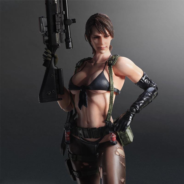 Sexy Girl Women Original Metal Gear Solid V Venom Snake Quiet