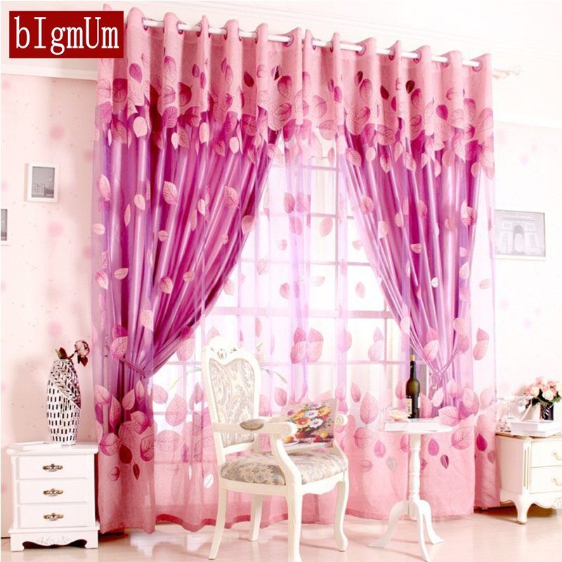 Luxury Window Curtains for Living Room Blackout Curtain+Tulle for ...