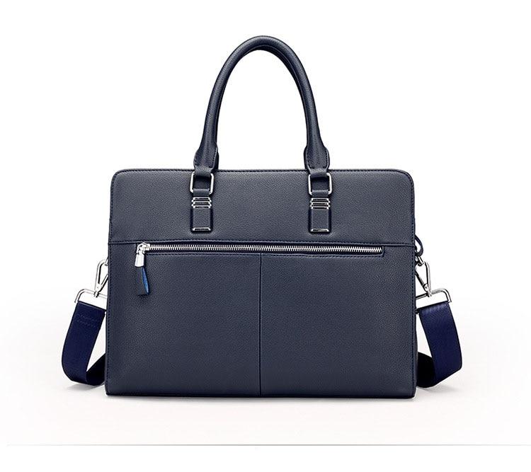 HTB1ePulbk9WBuNjSspeq6yz5VXa6 Wholesale Genuine Leather Men Briefcases Brand Fashion Men's Crossbody Bags High Quality Male Messenger Bags 2019 New arrival