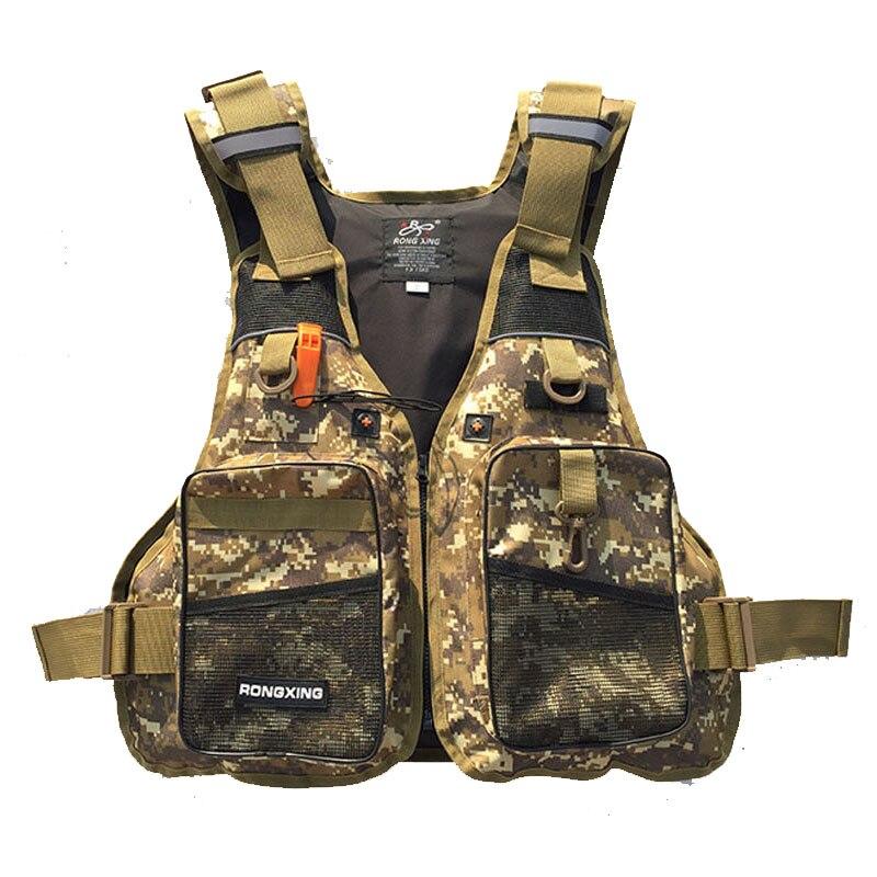 Men's Hunting Vest Adult Fishing Vest Hunting jackets Swimming Life Jackets Buoyancy Vest Women Fishing Waterproof
