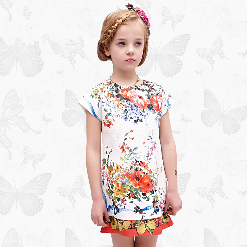 Toddler Girls Dresses Children Clothing 2017 Brand Princess Dress for Girls Clothes Fish Print Kids Beading Dress 1 32 toddler girls dresses children clothing 2017 brand princess dress for girls clothes fish print kids beading dress fanaideng 50