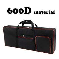 420D/600D утолщенный нейлон 61 клавишная клавиатура инструмент сумка для клавиатуры водонепроницаемый чехол для электронного пианино